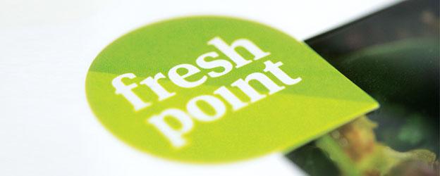 """fresh point""-Logo"
