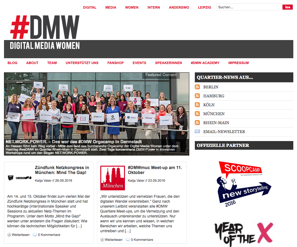 DMWDMW website